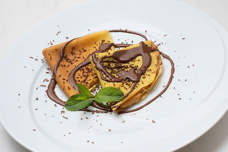 Crepes-con-salsa-de-chocolate